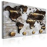 Weltkarte als Pinnwand 90 x 60 cm mit Kork