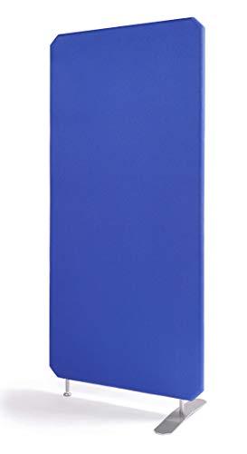 Oktagon Akustik Stellwand - System, Schallschutz - Trennwand, Akustikwand schallabsorbierend, geprüft nach DIN EN ISO 354, Paneel - Größe: 1800 H x 800 B x 50 D (mm), Farbe: blau