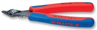 KNIPEX 78 61 125 Electronic Super Knips® brüniert mit Mehrkomponenten-Hüllen 125 mm