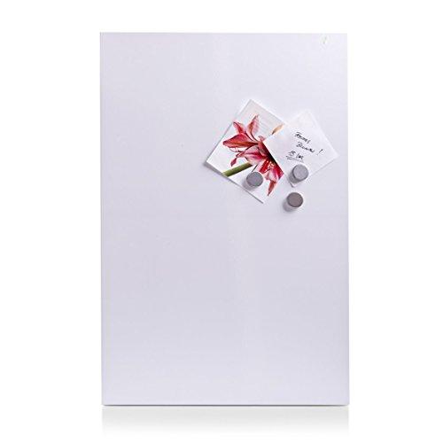 Zeller 11123 Magnettafel, weiß, Metall, ca. 40 x 60 cm