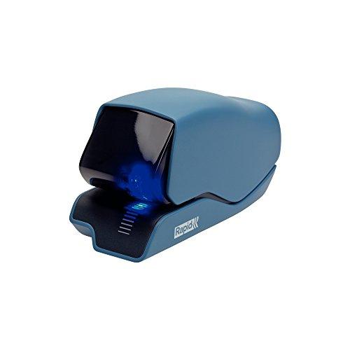 Rapid Elektroheftgerät, 25 Blatt, Kunststoff, Metall, Elektronik, Kassettenaustausch, 5025e, Blau, 25095202