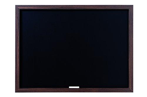 Bi-Office, Blackboard Optimum, Kreidetafel, Walnuß MDF Rahmen, 60x45cm