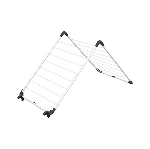 Vileda Acrobath Wäscheständer, Stahl und Kunststoff, weiß, 71x5.5x67 cm