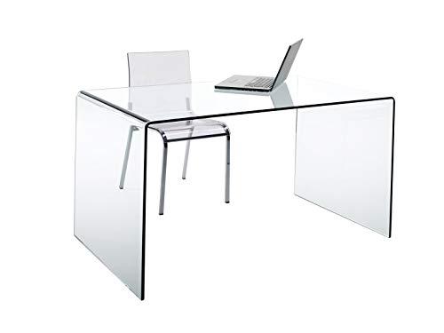 CHANDRA Schreibtisch Glas