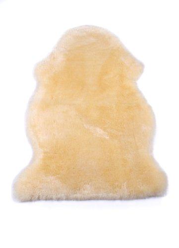 Baby-Lammfell Öko-Schaffell medizinisch gegerbt, geschoren, waschbar, 90-100 cm Öko-Test'Gut', incl gratis Lammfellbürste
