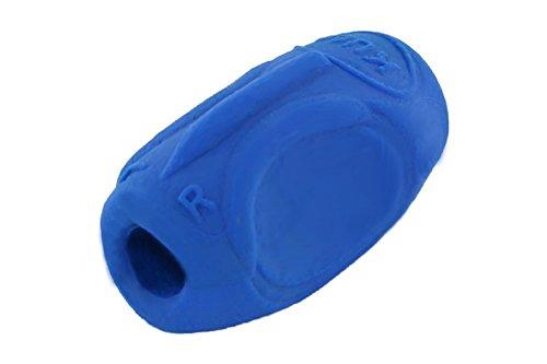 KUM AZ406.00.22-B Lehrmaterialien Schreiblernhilfe Sattler Grip A7 B für Rechts- und Linkshänder, 1 Stück, blau