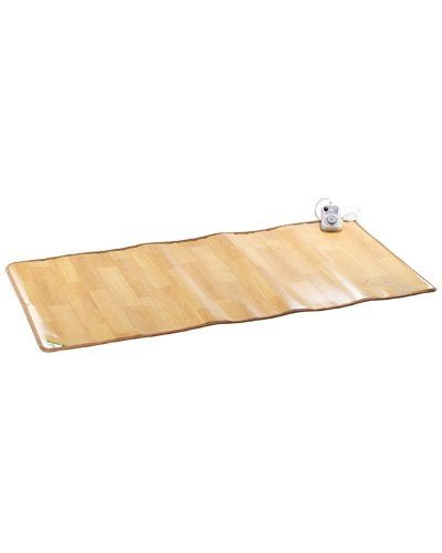 infactory Infrarot Bodenmatte: Beheizbare Infrarot-Fußboden-Matte, 105 x 200 cm, bis 50 °C, 550 Watt (Beheizbare Badematte)