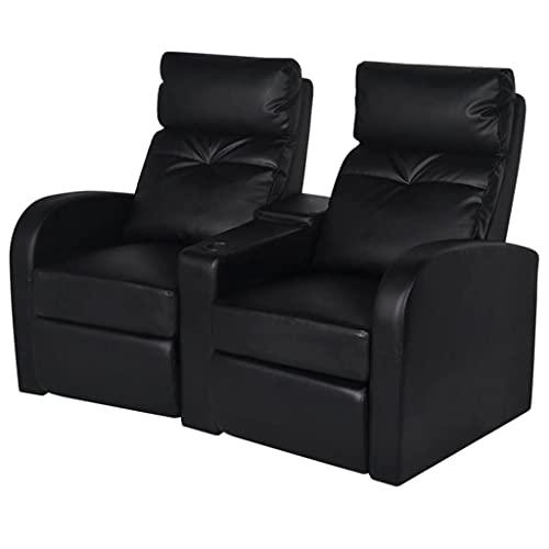 vidaXL Kinositze 2-Sitzer für Heimkino und als Fernsehsessel