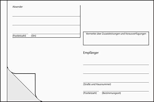 Sigel AS600 selbstklebende Adress-Aufkleber / Paket-Aufkleber, für Handbeschriftung, A6 quer, 100 Stück, weiß