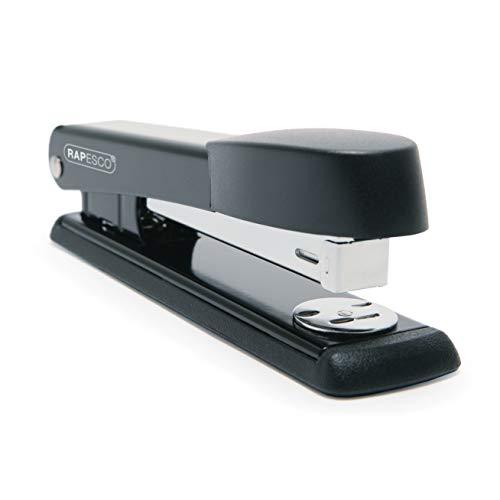 Rapesco R54500B2 Marlin Vollstreifen Büroheftgerät (Typ 24 und 26/6mm Heftklammern) 25 Blatt Heftkapazität Schwarz