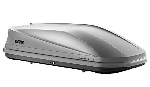 Thule 634200 Dachbox Touring, Titan Aeroskin, Größe M, beidseitige Öffnung
