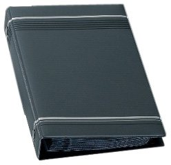 Durable 238558 Visitenkartenringbuch Visifix (für 200 Karten 90 x 57 mm, 145 x 255 x 38 mm) anthrazit