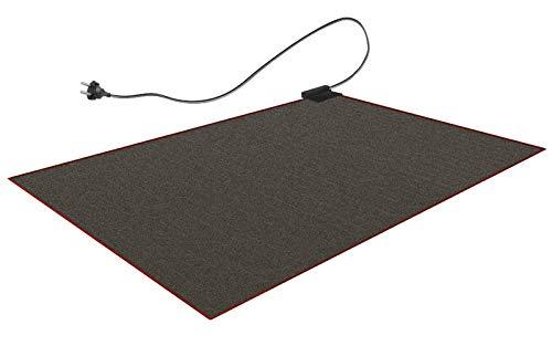 Beheizbare Teppich-Unterlage 140x200cm Unter Teppich Heizung Heizteppich Fußmatte Wärmeteppich 25°C