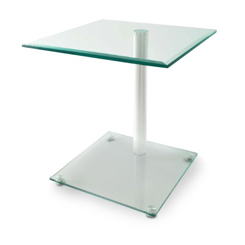 Beistelltisch Facettenschliff Design Couchtisch Glastisch Nachttisch BHP B154074