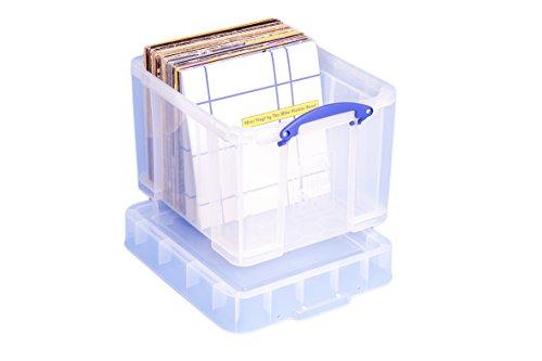 Really Useful Aufbewahrungsbox, 35Liter, Größe XL, transparent