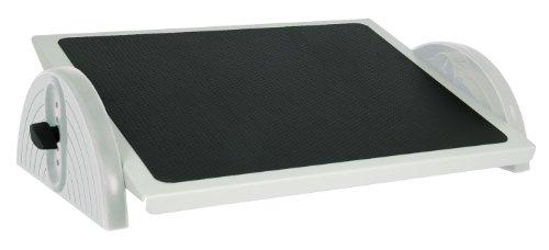 Wedo 2755037 Fußstütze (Relax steel verstellbar DIN 4556) lichtgrau