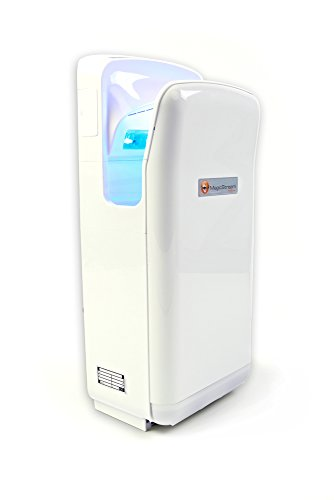 MagicStream Handtrockner - elektrischer Händetrockner mit HEPA Filter für trockene...