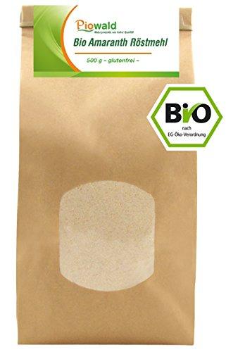 Röstmehl aus Amaranthgetreide in Bioqualität