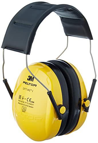 3M Peltor Optime I Kapselgehörschützer gelb - Gehörschutz mit verstellbarem...