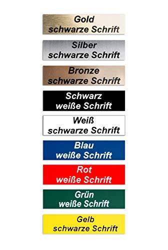 2-Stueck-Klingelschild selbstklebend, MADE IN GERMANY...