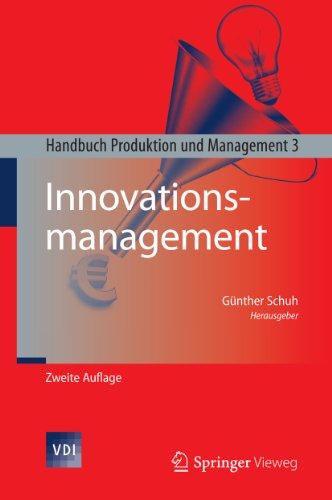 Innovationsmanagement: Handbuch Produktion und Management 3 (VDI-Buch)