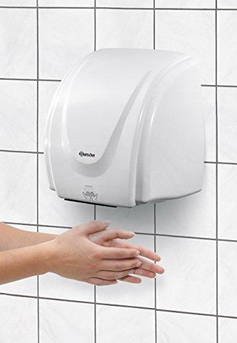 Bartscher Händetrockner 21kW Kunststoff 85163300 Art. 850000