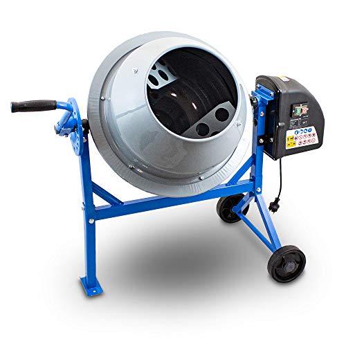 BITUXX® Betonmischer Betonmischmaschine Mörtelmischer Zementmischer 65L
