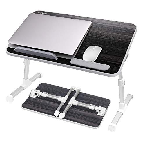NEARPOW Betttablett Laptoptisch Einstellbare Notebooktisch Höhenverstellbar...