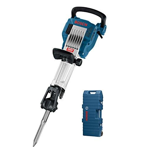 Bosch Professional Abbruchhammer GSH 16-28 (41 J Schlagenergie, 1.750 Watt, 28 mm Werkzeugaufnahme, inkl. 400 mm Spitzmeißel, mit Trolley)