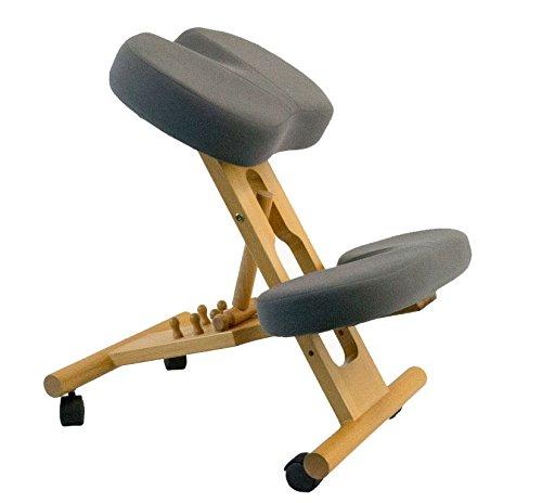 Kniestuhl mit viskoelastischem Schaumstoff zur Linderung von Steißbeinschmerz