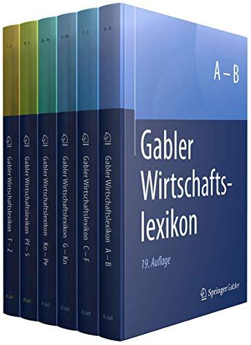 Gabler Wirtschaftslexikon in 6 Bänden - Ein Klassiker unter den Wirtschaftsbüchern