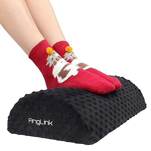 AngLink Fußstütze unter Schreibtisch ergonomisches Fußablage verstellbar Footrest...
