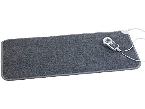 infactory Heizteppich: Beheizbare Infrarot-Fußboden-Matte, Vliesstoff, 105x55cm, 60 °C, 155 W (Fußbodenheizung)