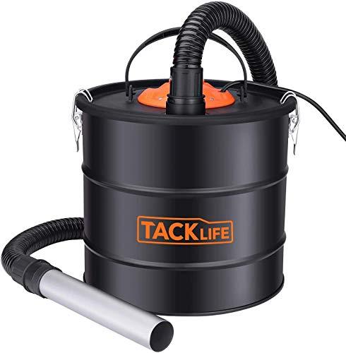 TACKLIFE Aschesauger, 800 W 18 L, Kaminsauger, Gebläse 140 W, Aschesauger für kamin testsieger, Staubsauger mit abnehmbarem Filter, geeignet für Backofen, Kamin, Grill, Feuerstellen