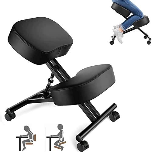 Kniestuhl, Verstellbarer Kniestuhl, ergonomischer Hocker, geeignet für Zuhause und...