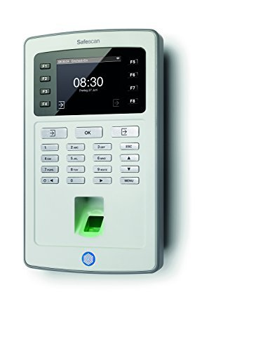 Zeiterfassungsgerät mit RFID Kartenleser und Fingerprintsensor