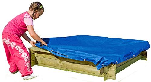 Sandkasten-Abdeckung von Gartenpirat 120 x 120 cm mit Gummizug