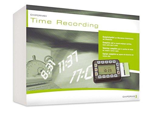 Neuling GmbH & Co. KG SCM Chipdrive Timerecording Starterkit für bis zu 25 Mitarbeiter (Komplettpaket)