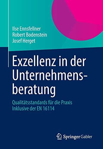 Exzellenz in der Unternehmensberatung: Qualitätsstandards für die Praxis Inklusive der EN 16114