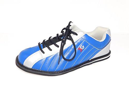 Bowling-Schuhe, 3G Kicks, Damen und Herren, für Rechts- und Linkshänder in 7 Farben Schuhgröße 36-48