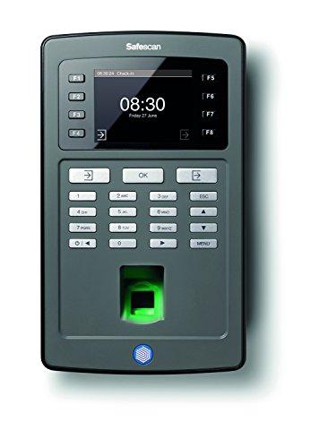 Safescan TA-8030 - Zeiterfassungstsystem: Terminal mit RFID Kartenleser & Fingerprintsensor und Software