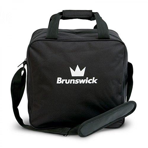 Brunswick TZone Single Tote 1-Ball-Bowling Bag in verschiedenen Farben