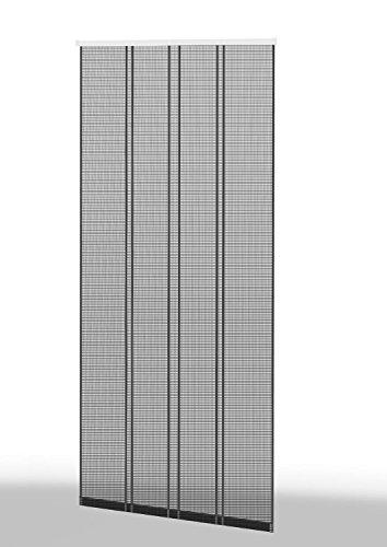 empasa Klemm-Lamellenvorhang 'COMFORT' Fliegengitter Insektenschutzvorhang verschiedene Größen als Selbstbausatz