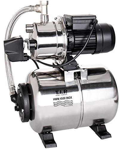 T.I.P. 31140 HWW 4500 INOX Hauswasserwerk mit Thermo-Überlastungsschutz