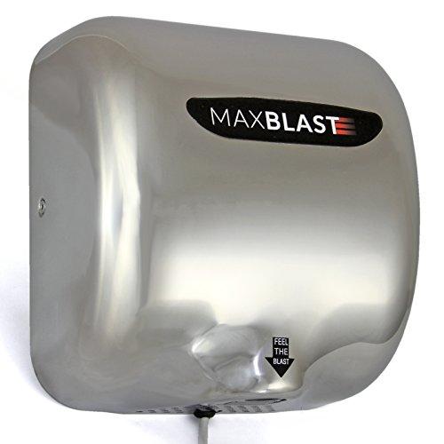 MAXBLAST automatischer elektrischer Händetrockner, trockene Hände nach 7 bis 12 s