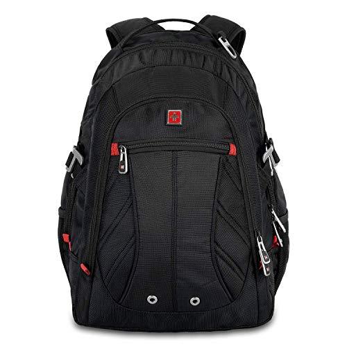 Swisswin Laptop Notebook Rucksack Daypack Schulrucksack Backpack Multifunktion