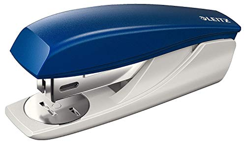 Leitz 55010035 Hefter und Minihefter 5501 Büroheftgerät Klein NeXXt, 25 Blatt, blau