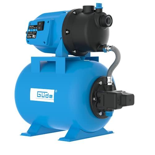 Güde 94667 HWW 3100 K Hauswasserwerk (600W Motorleistung, 3100 l/h Fördervolumen,...