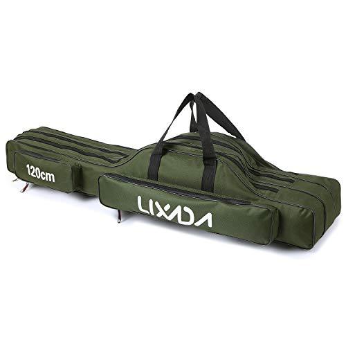 Lixada 3 Schicht Portable Folding Angelrute Tasche Angelrute Werkzeuge...