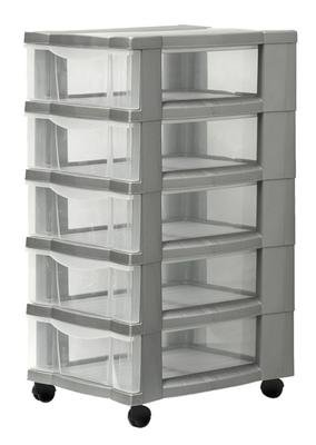 Rollcontainer Schubladenschrank mit 5 Subladen